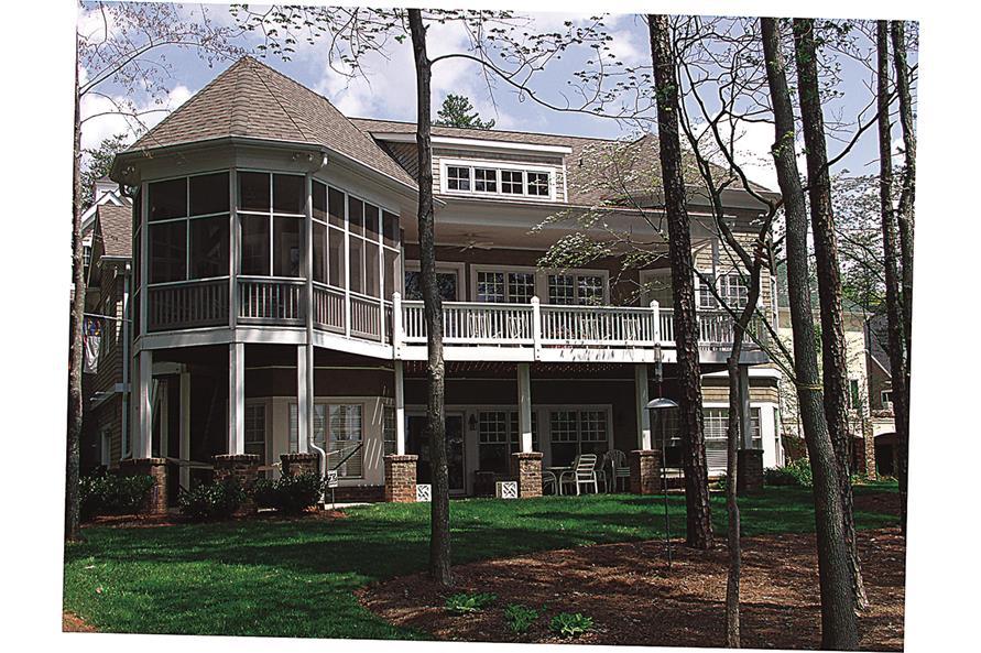 180-1019: Home Exterior Photograph-Rear View