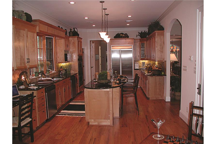 180-1020: Home Interior Photograph-Kitchen