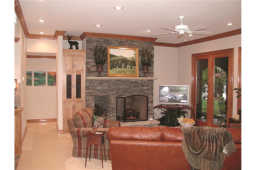 180-1020: Home Interior Photograph-Playroom - Recreation Room