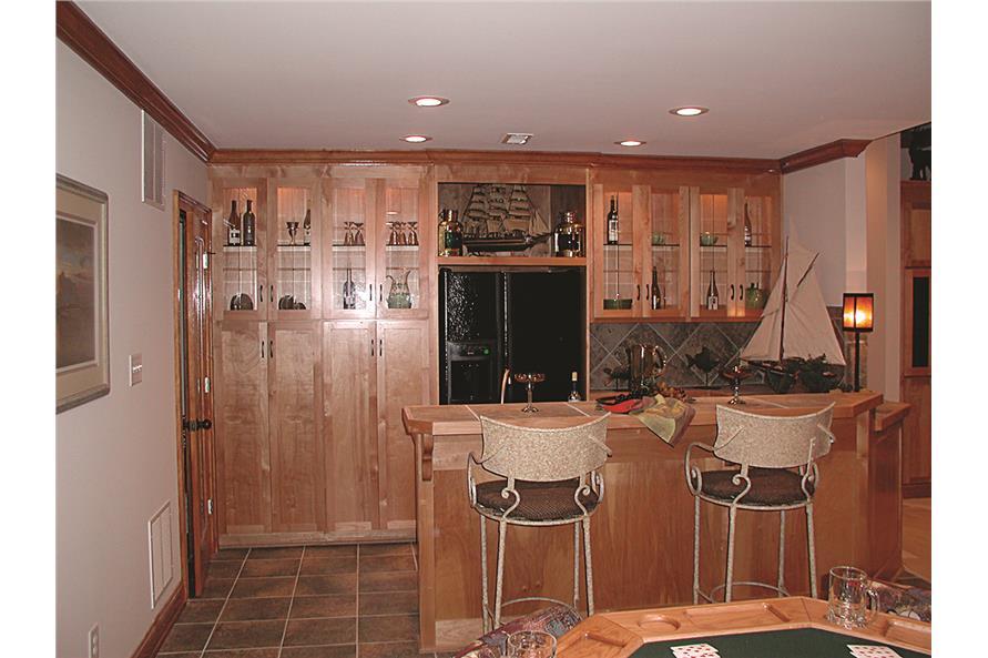180-1020: Home Interior Photograph - Wet Bar