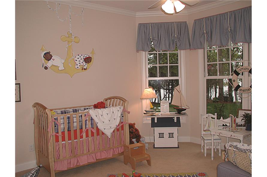 180-1020: Home Interior Photograph-Bedroom: Kids