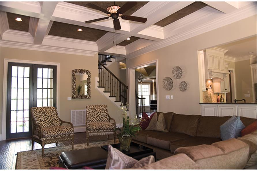 180-1022: Home Interior Photograph-Great Room