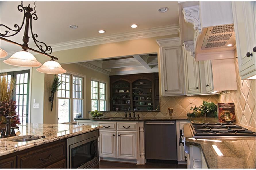 180-1022: Home Interior Photograph-Kitchen