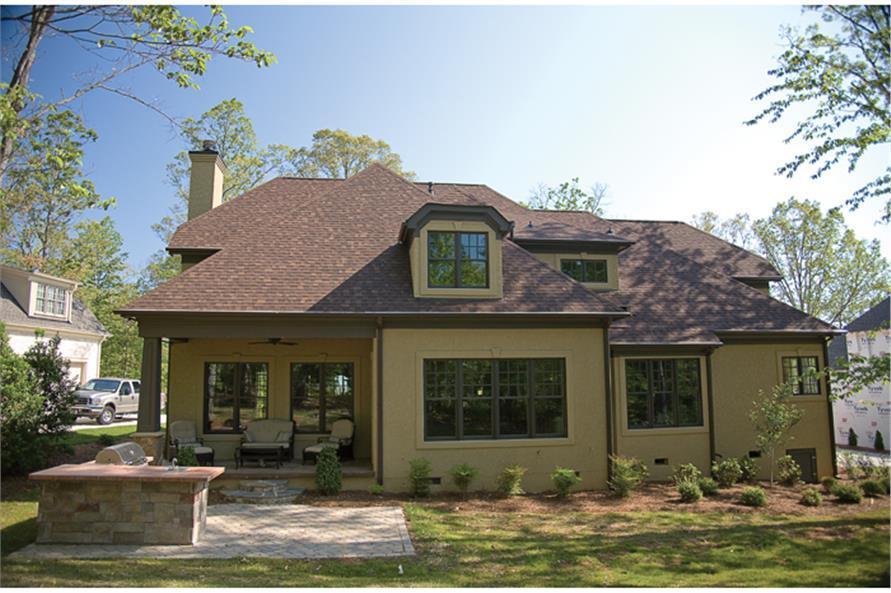 180-1022: Home Exterior Photograph-Rear View