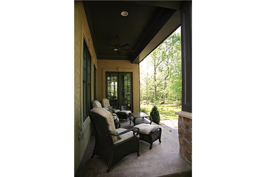 180-1022: Home Exterior Photograph-Porch