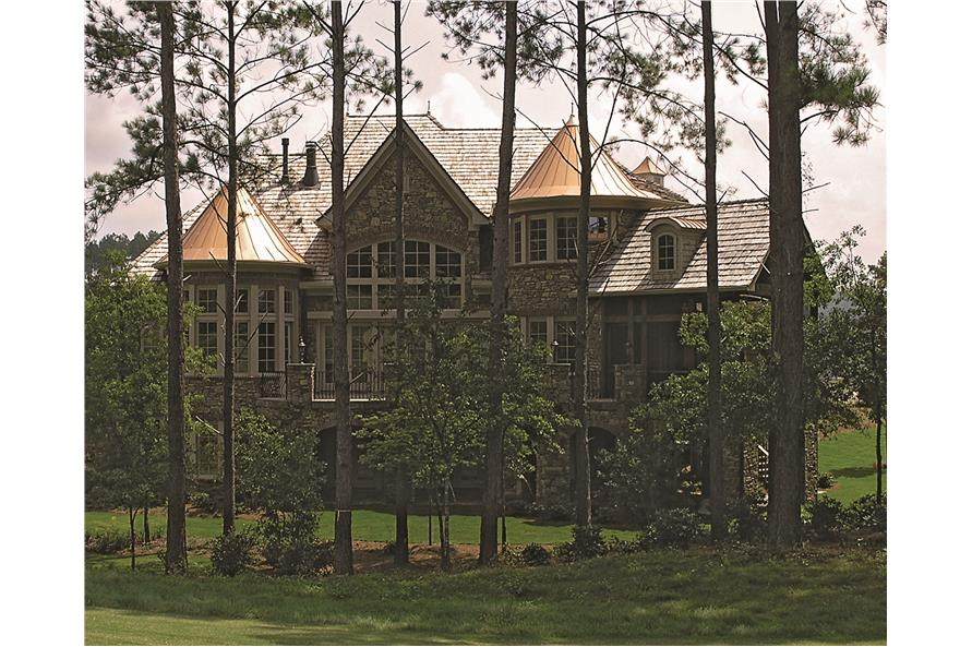 180-1025: Home Exterior Photograph-Rear View 3