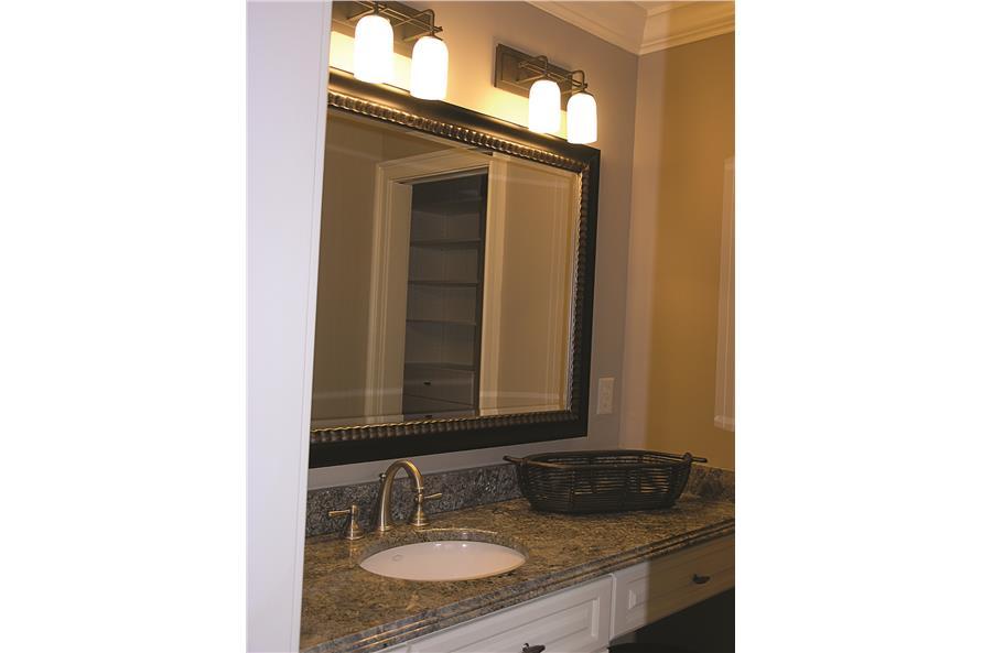 180-1025: Home Interior Photograph-Master Bathroom