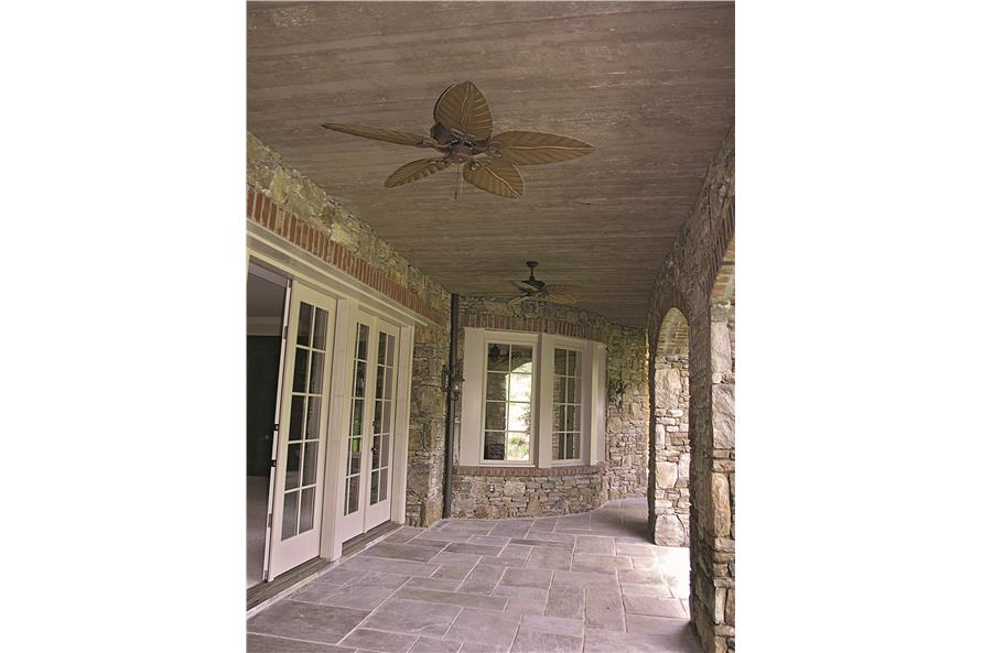 180-1025: Home Exterior Photograph-Porch - Covered Veranda