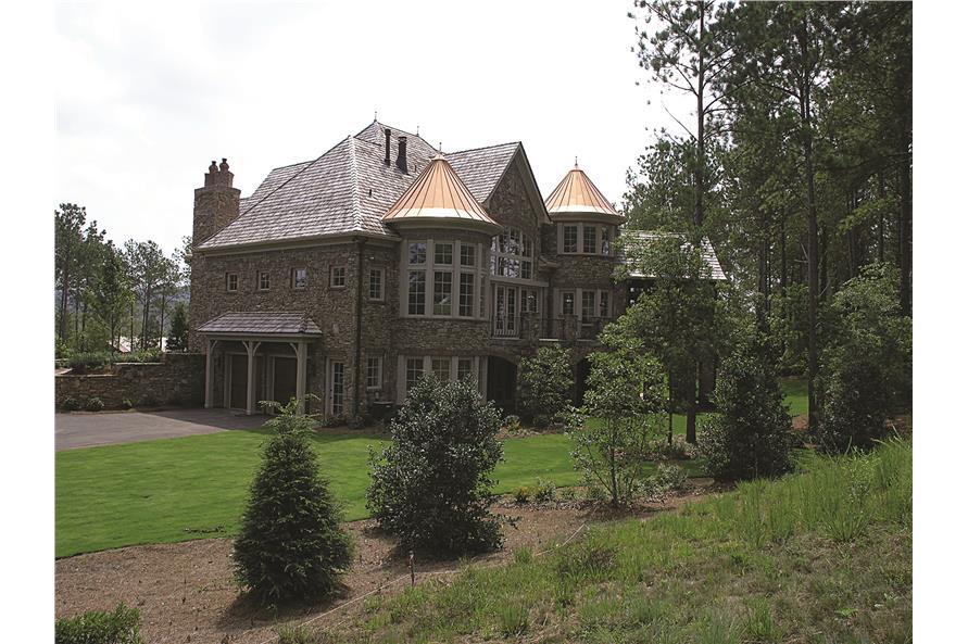 180-1025: Home Exterior Photograph-Rear View 2