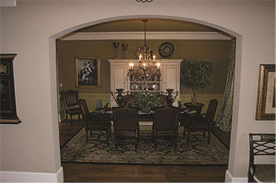 180-1026: Home Interior Photograph-Dining Room