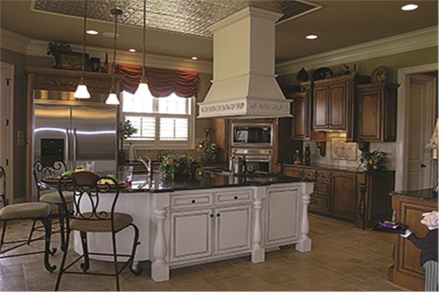180-1026: Home Interior Photograph-Kitchen