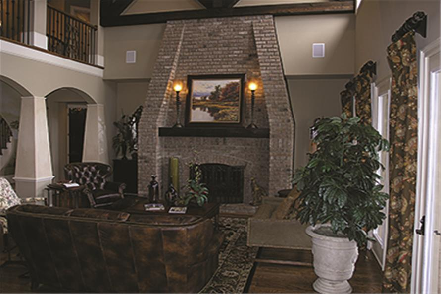 Hearth Room of this 5-Bedroom,6589 Sq Ft Plan -6589
