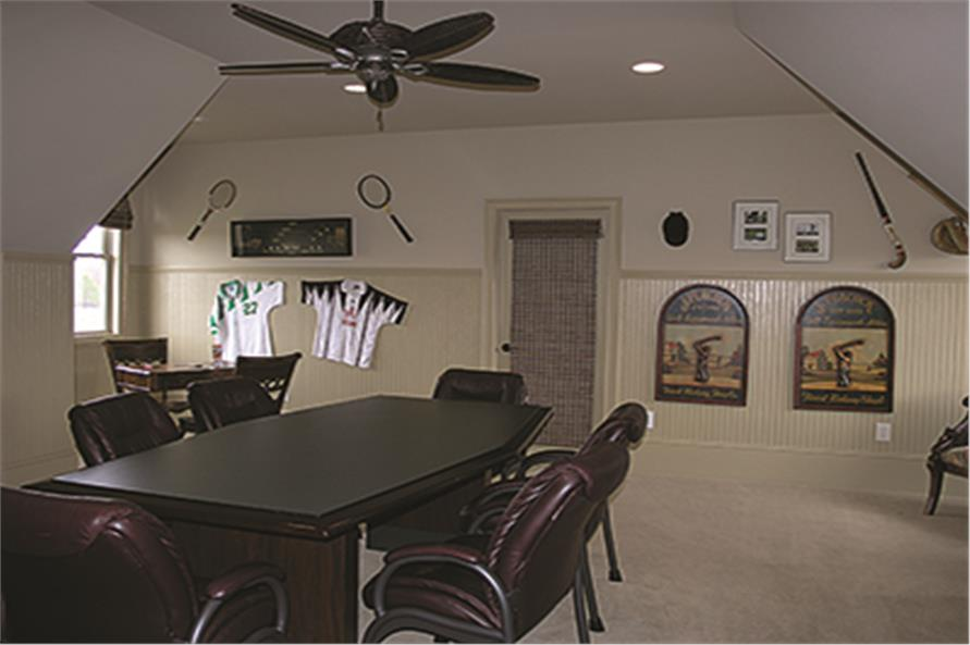 Playroom of this 5-Bedroom,6589 Sq Ft Plan -6589