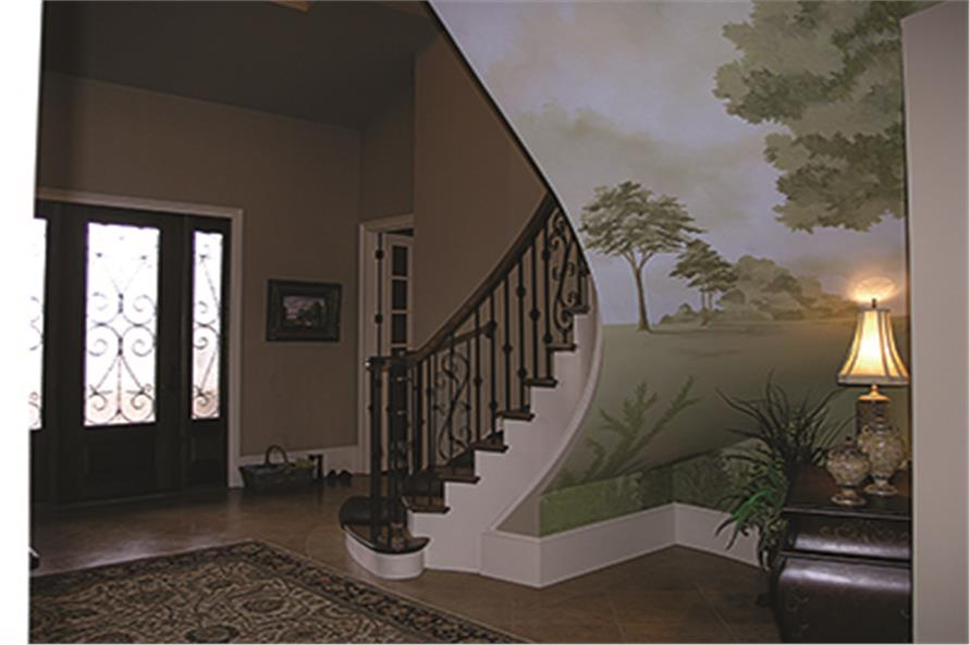 Entry Hall: Staircase of this 5-Bedroom,6589 Sq Ft Plan -6589