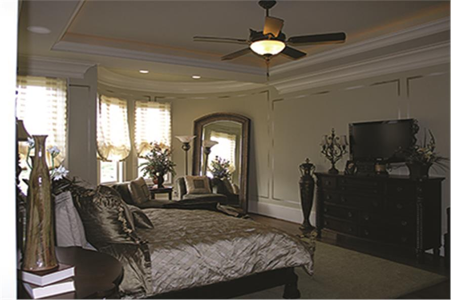 Master Bedroom of this 5-Bedroom,6589 Sq Ft Plan -6589