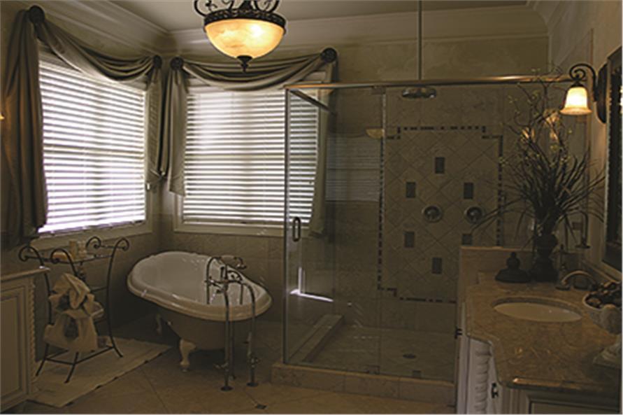 180-1026: Home Interior Photograph-Master Bathroom