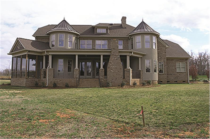 Rear View of this 5-Bedroom,6589 Sq Ft Plan -6589