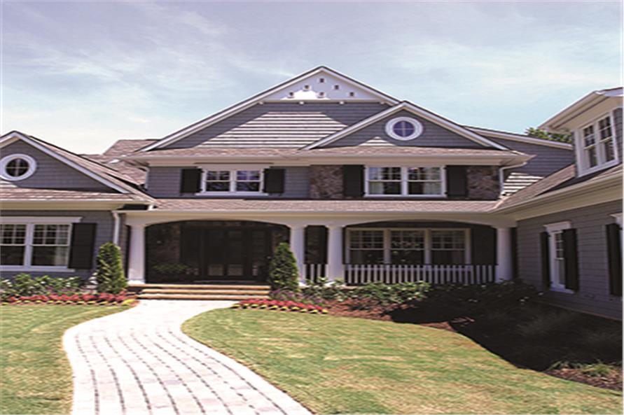180-1028: Home Exterior Photograph-Front Door