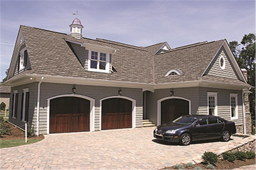 180-1028: Home Exterior Photograph-Garage