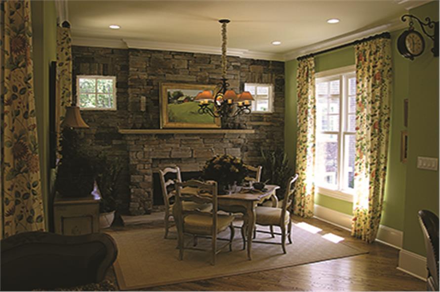 180-1028: Home Interior Photograph-Hearth Room