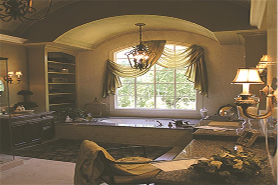 180-1028: Home Interior Photograph-Master Bathroom