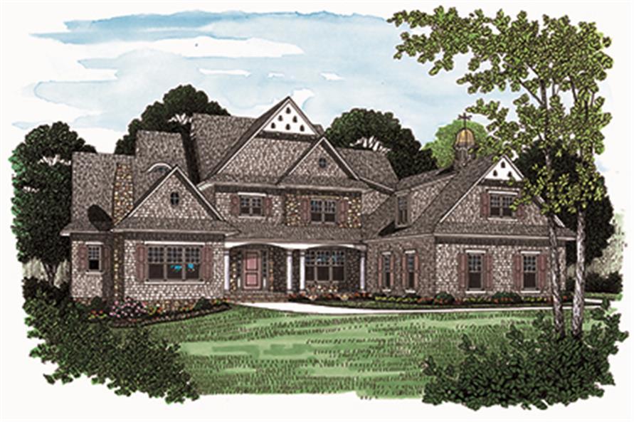 180-1028: Home Plan Rendering
