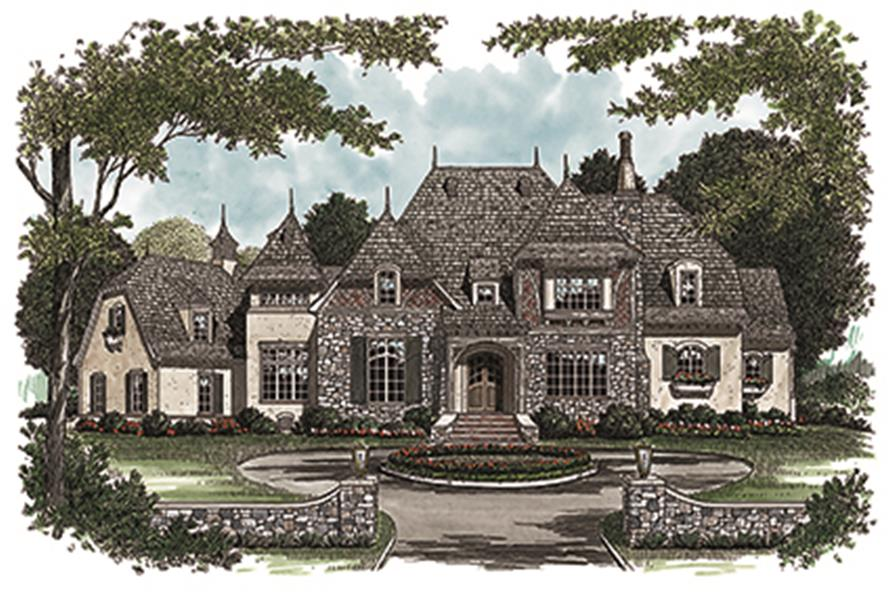 180-1029: Home Plan Rendering