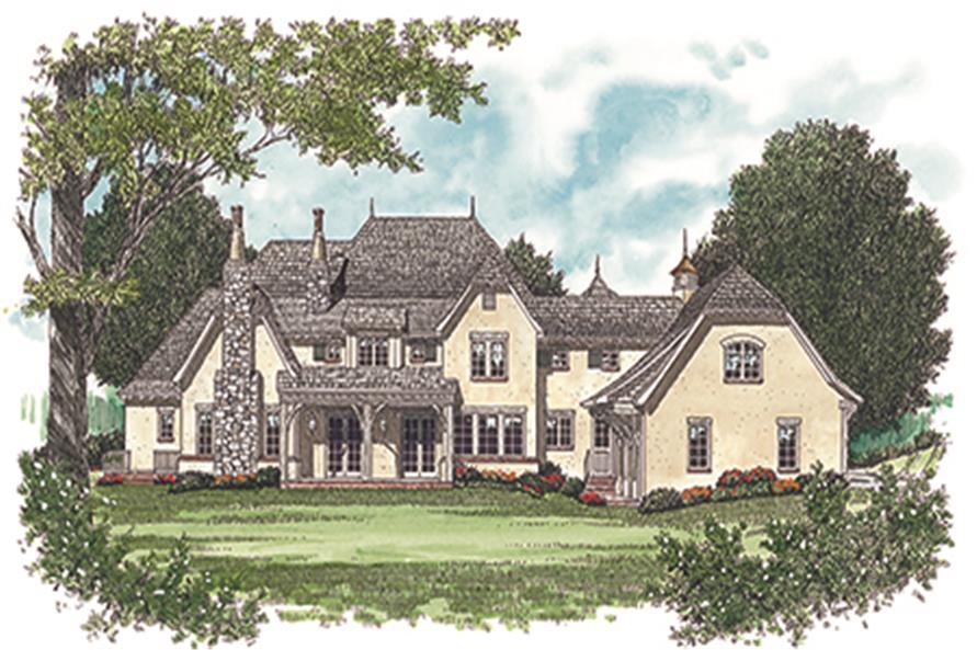 180-1029: Home Plan Rendering