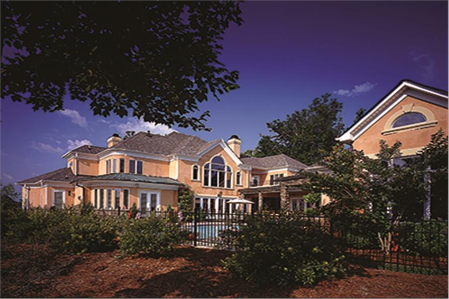 180-1030: Home Exterior Photograph-Rear View