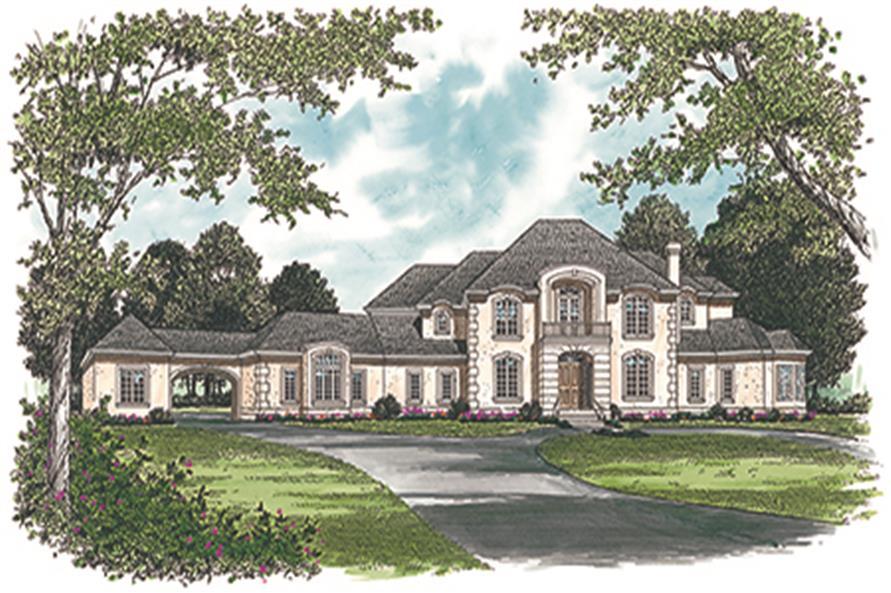 180-1030: Home Plan Rendering