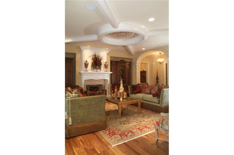 Family Room of this 7-Bedroom,8933 Sq Ft Plan -8933