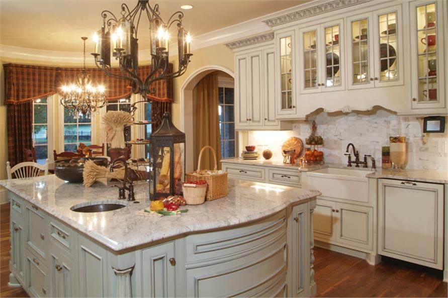 Kitchen of this 7-Bedroom,8933 Sq Ft Plan -8933