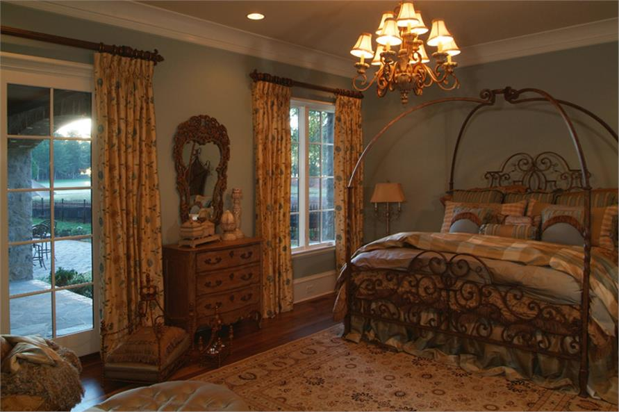 Master Bedroom of this 7-Bedroom,8933 Sq Ft Plan -8933
