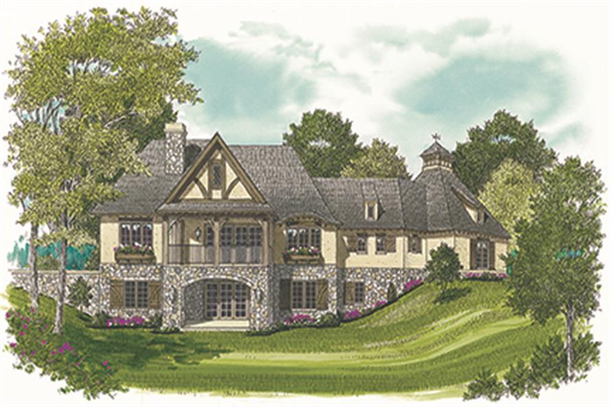 180-1038: Home Plan Rendering