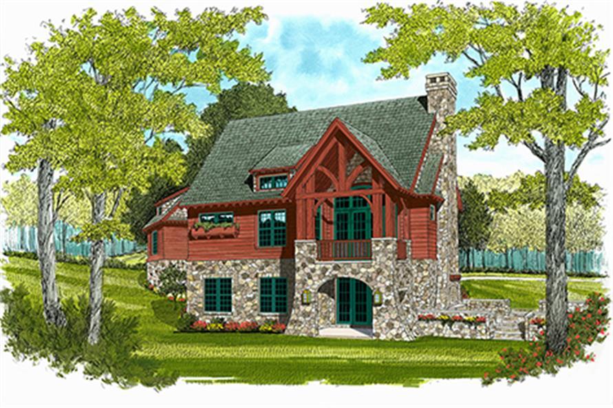 180-1039: Home Plan Rendering