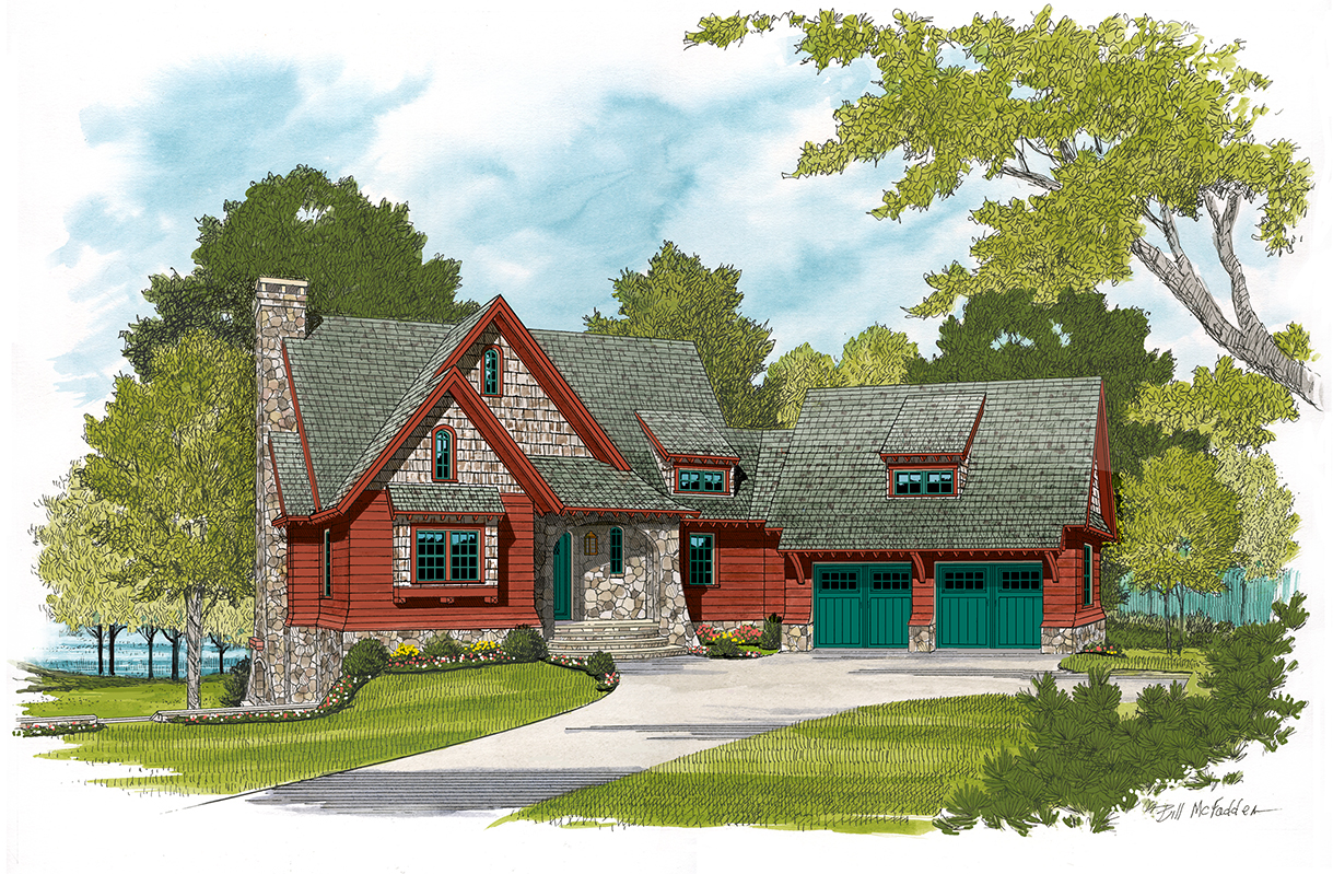 Arts And Crafts House Plan 180 1039 3 Bedrm 1885 Sq Ft