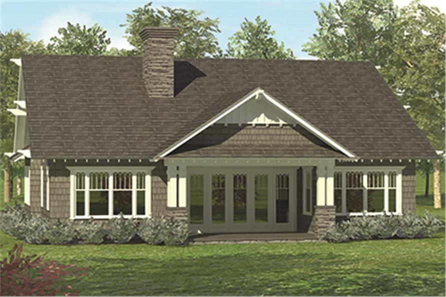 180-1040: Home Plan Rendering