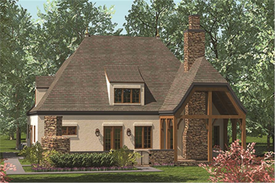 180-1041: Home Plan Rendering