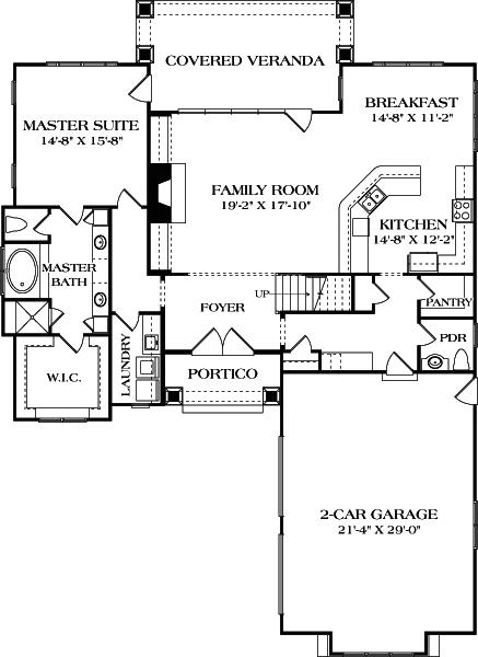 Craftsman House Plan 180 1046 3 Bedrm 2494 Sq Ft Home