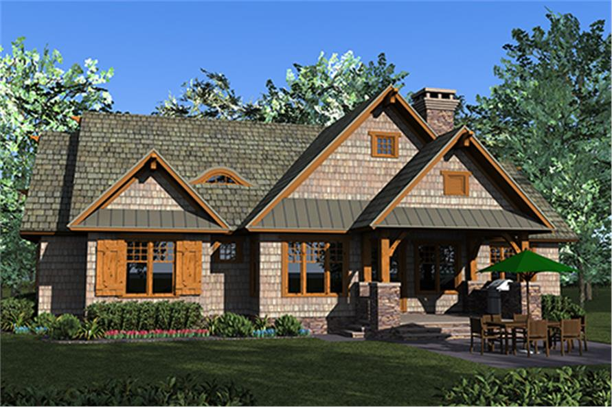 Home Plan Rendering of this 3-Bedroom,2074 Sq Ft Plan -2074