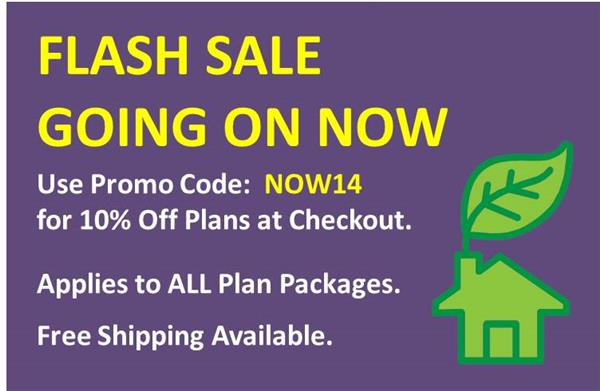 FLASH Sale Discount on Plans!