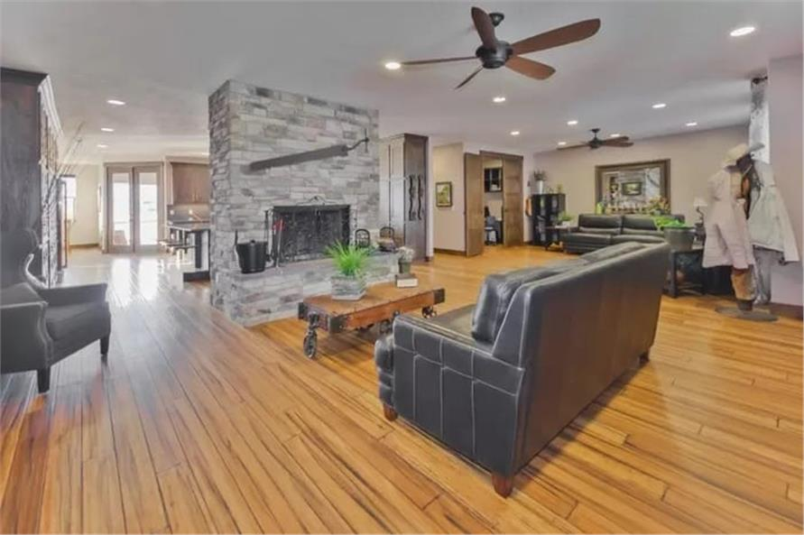 Family Room of this 2-Bedroom,2477 Sq Ft Plan -187-1000