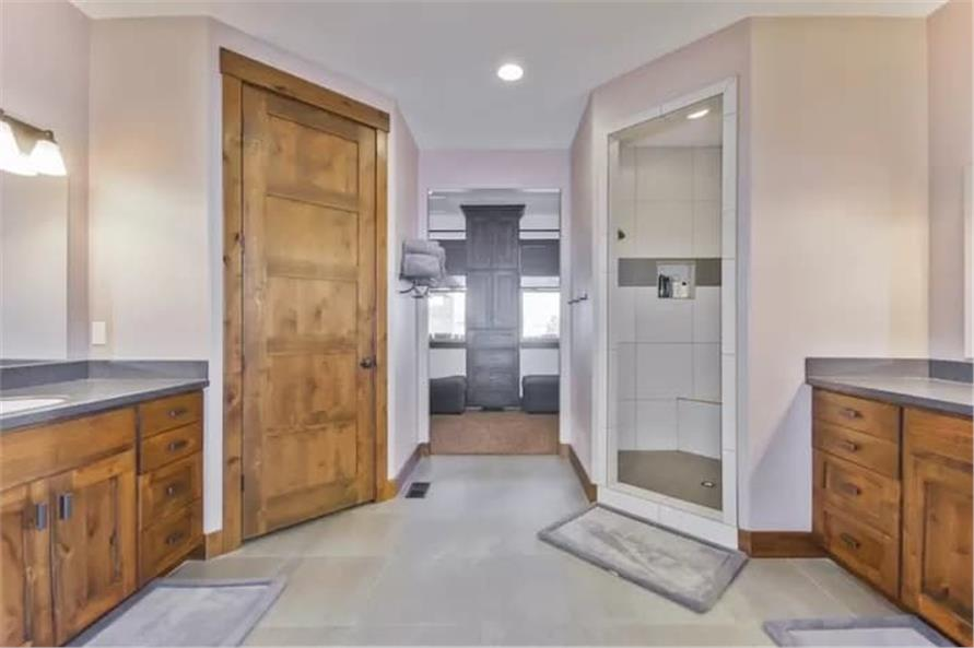 Master Bathroom of this 2-Bedroom,2477 Sq Ft Plan -187-1000