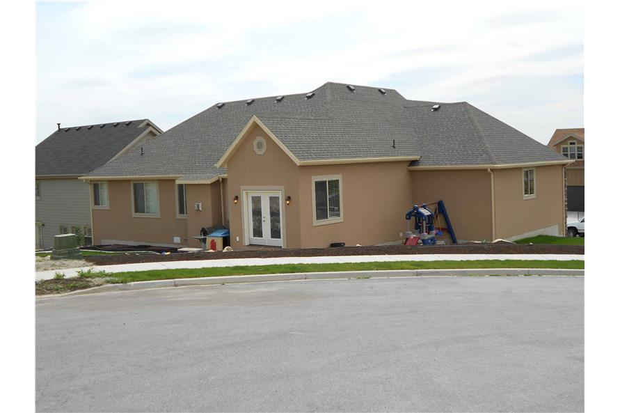 Rear View of this 5-Bedroom,2053 Sq Ft Plan -187-1002