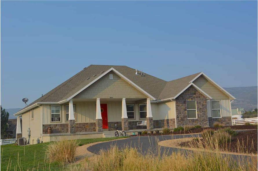 Left Side View of this 6-Bedroom,2343 Sq Ft Plan -187-1003