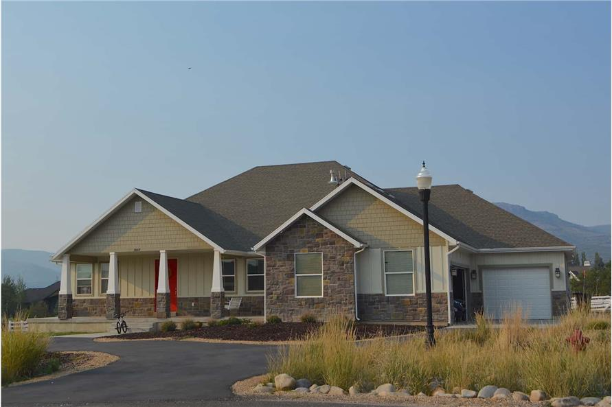Right Side View of this 6-Bedroom,2343 Sq Ft Plan -187-1003