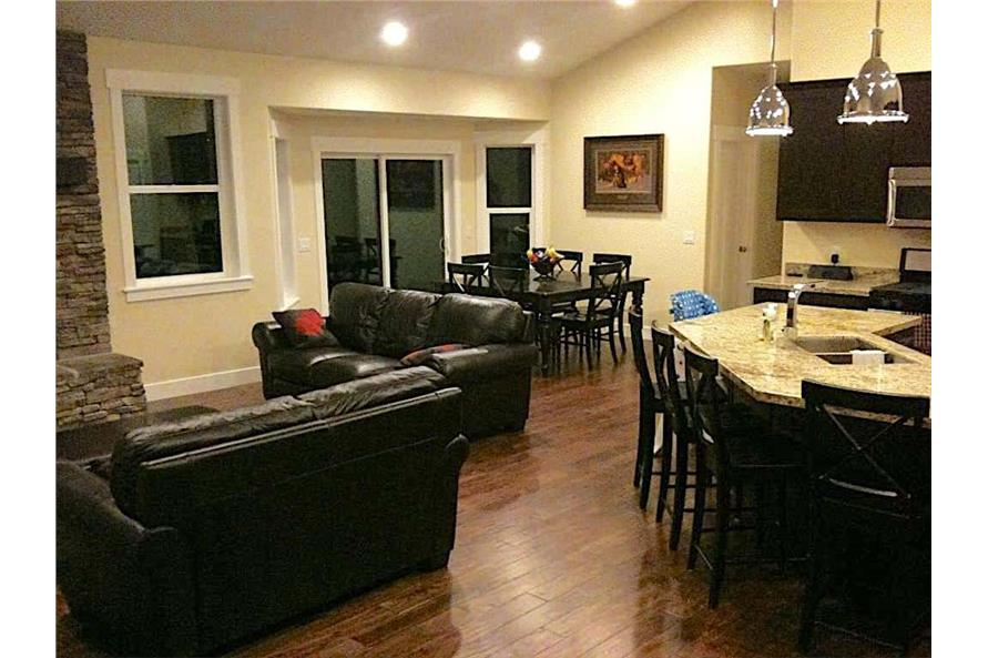 Great Room of this 6-Bedroom,2343 Sq Ft Plan -187-1003