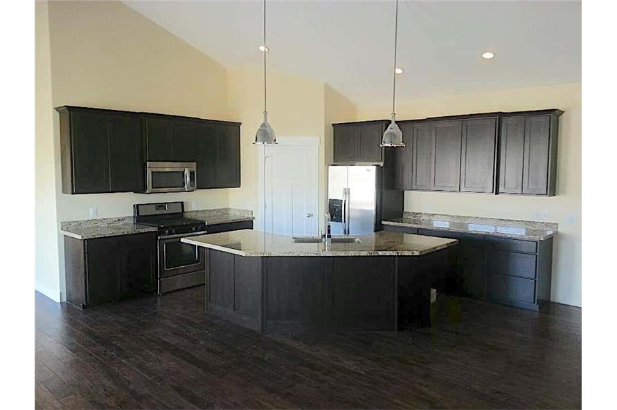 Kitchen of this 6-Bedroom,2343 Sq Ft Plan -187-1003
