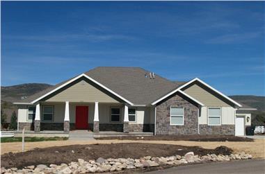 3-6 Bedroom, 2343 Sq Ft Craftsman Home Plan - 187-1003 - Main Exterior
