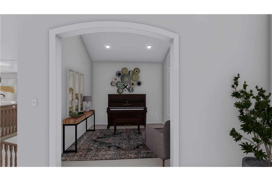 Home Office of this 2-Bedroom,1831 Sq Ft Plan -187-1004